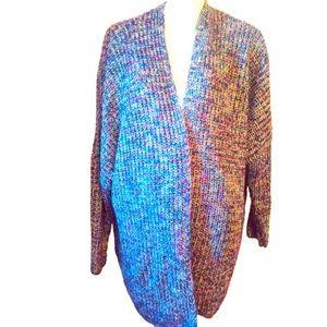 Marled knit shimmer cardigan Lane Bryant 22/24